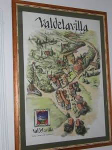 Map of Valdelavilla