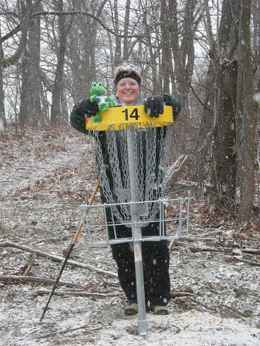 Polly and Disc Golf