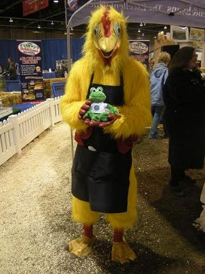 Polly at the Pennsylvania Farm Show