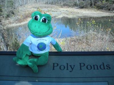 Was This Pond Named After Me? (I think they spelled it wrong on the sign! )