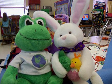Frog and Rabbit are Friends