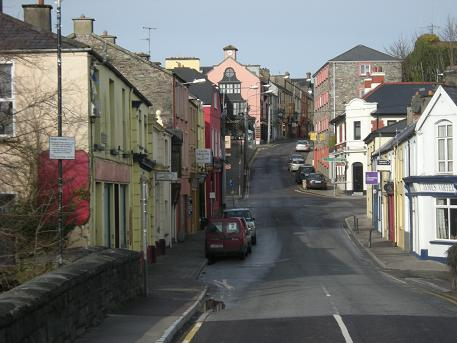 Quaint Irish town