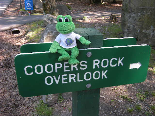 Coopers Rock sign